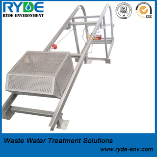 Manual or Mechanical Basket Screen for Municipal Sewage Treatment Plant