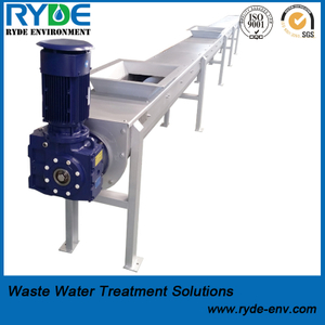 Horizontal Shaft-less Screw Conveyor for Wastewater And Sludge Treatment
